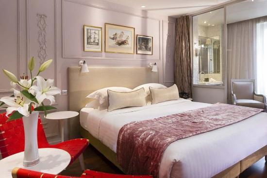 Chambre Romantique Rose R - Photo de Hotel & Spa La Belle Juliette ...