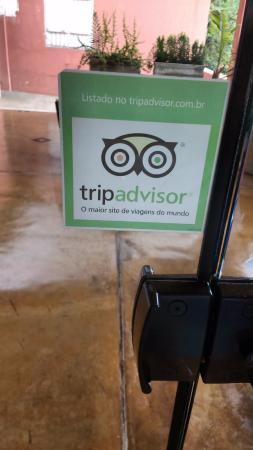 Quando percebi que participava do TripAdvisor, já saí fotografando para poder avaliar.
