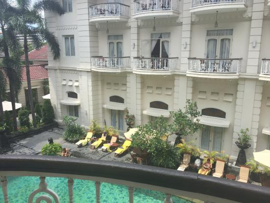 The Phoenix Hotel Yogyakarta - MGallery Collection: view from the balcony