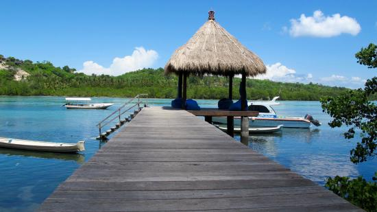 Ceningan Divers: Private Jetty and Balle