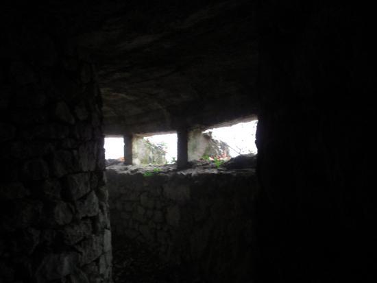 Province of Varese, Italia: un interno del bunker