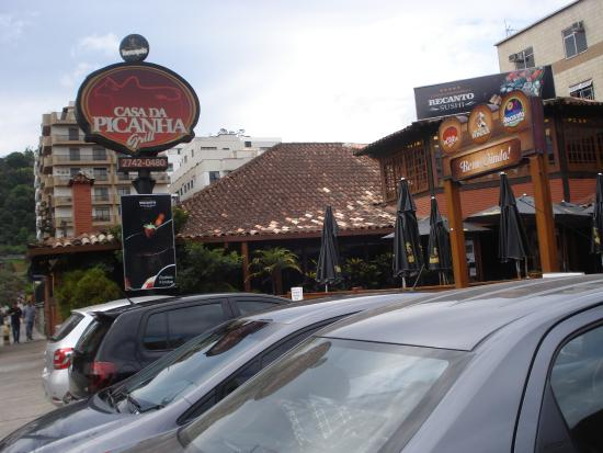 Casa Da Picanha Grill: Entrada da casa da picanha