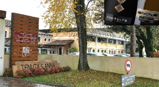 Annone Veneto, Italy: ingresso tenuta s'anna
