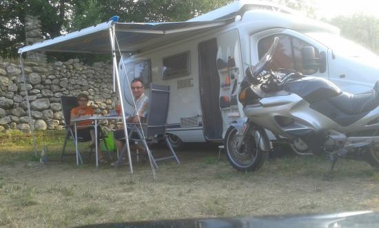 Vernet-Les-Bains, França: Le calme du camping