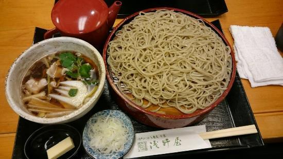 Fresh soba Asanoya