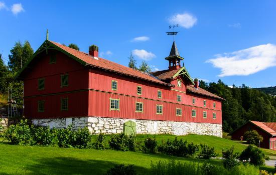Bjørnstjerne Bjørnsons Home Aulestad