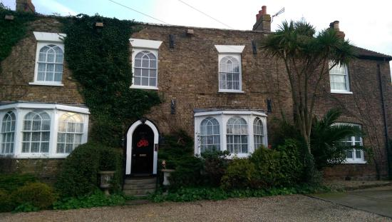The Priory B & B: the lovely exterior