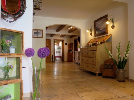 Hotel Garni Lavendel: Eingangsbereich