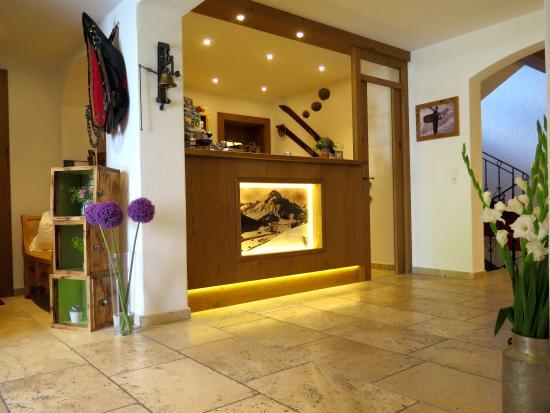 Hotel Garni Lavendel: Rezeption
