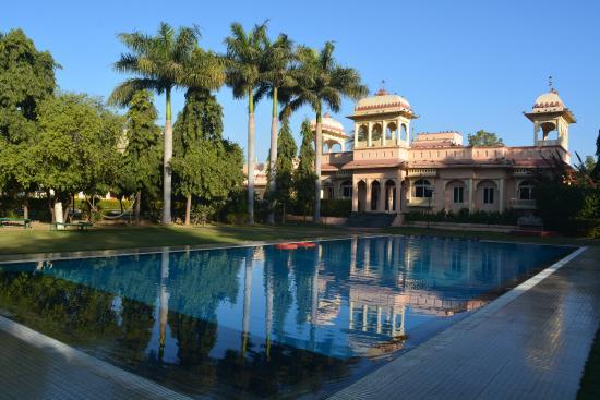 Swiiming Pool Picture Of Justa Rajputana Udaipur Resort Udaipur Tripadvisor