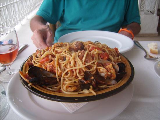 Fatma: Spaghetti frutti di mare