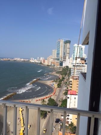 Hotel Capilla Del Mar Vista Desde La Habitacion