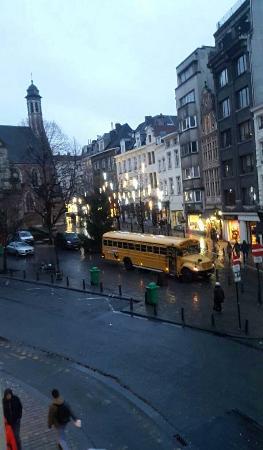 Novotel Brussels Grand Place: Vue de la chambre 112