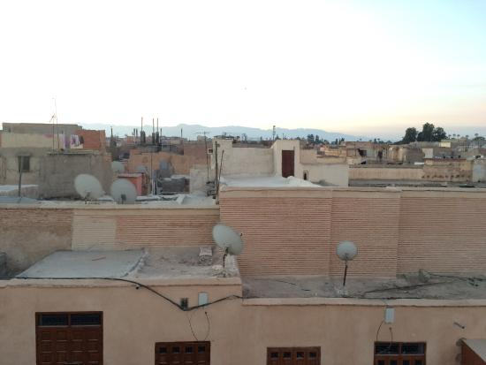 Riad Azoulay: view from the roof