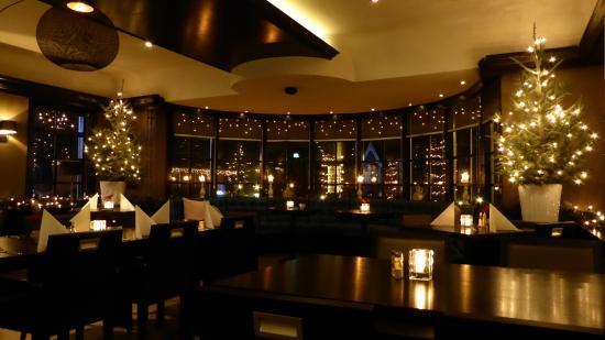 TopParken - Landgoed de Scheleberg: Sfeerverlichting restaurant