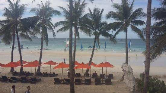 The District Boracay: view from breackfast area