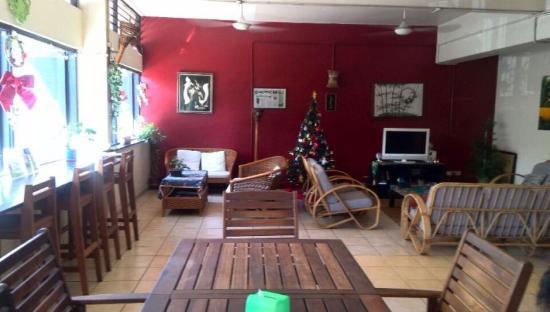Akinabalu Youth Hostel: 共有スペースは過ごしやすい