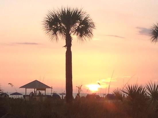 Sirata Beach Resort: Sunset from location