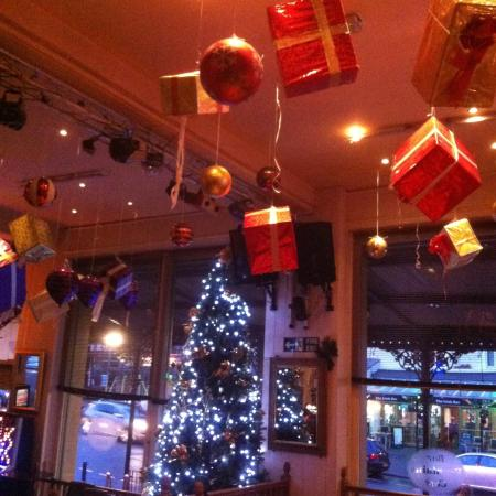 2015 Christmas decorations - Picture of Fountains Cafe Bar ...