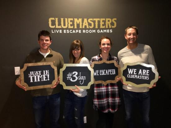 We Escaped Picture Of Cluemasters Fort Smith Tripadvisor