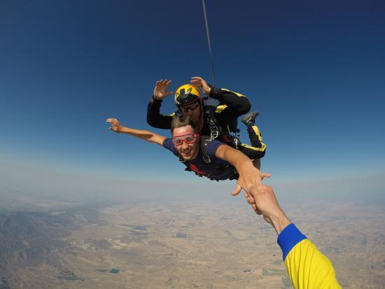 Skydive Costa Calida: Salta en tandem: sin necesidad de experiencia ni cursos previos