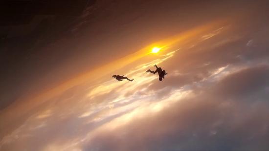Skydive Costa Calida: Sunset en el cielo