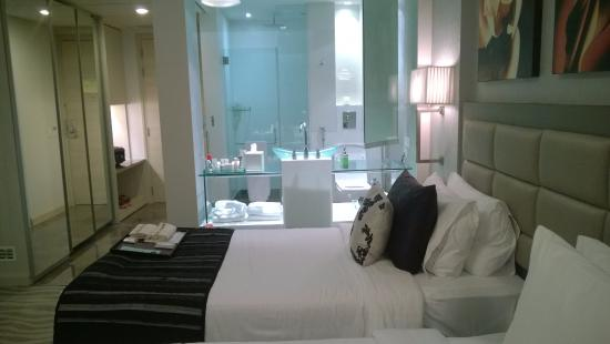 room bathroom with the glass partition unshuttered picture of rh tripadvisor co nz
