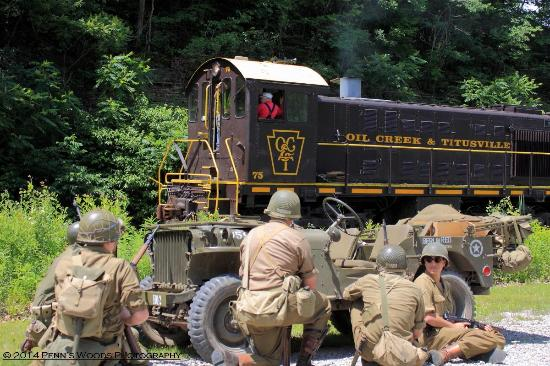 Titusville, PA: WWII Re-enactment