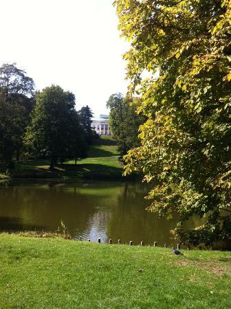 Parque Lazienki: Пруд