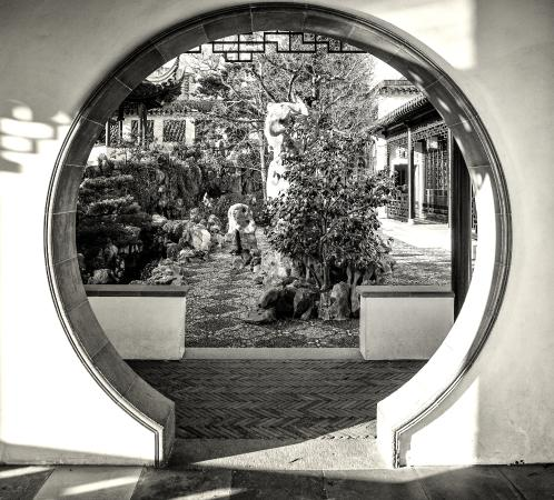 Garden Moon Gate Picture Of Dr Sun Yat Sen Classical