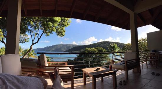 Rosewood Little Dix Bay: View from Room