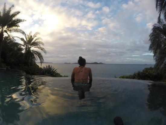 Rosewood Little Dix Bay: Spa Infinity Pool
