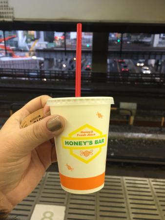 Honey's Bar Ikebukuro Yamate uchimawari platform  (inside loop platform)