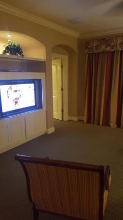 Lighthouse Key Resort and Spa: open tv room
