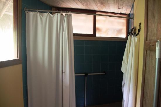 Cotundo, Ekuador: La ducha
