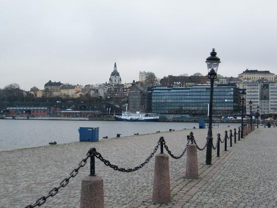 Comté de Stockholm, Suède : набережная