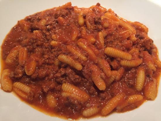 La Collina: パスタが少し硬かったですがソースはこちらも美味でした