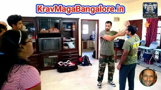 BadAzz Krav-Maga Self-Defense Military Combat Academy: Proud of Swanand Lele taking charge of BadAzz Krav Maga Self Defense training in Whitefield, Ban