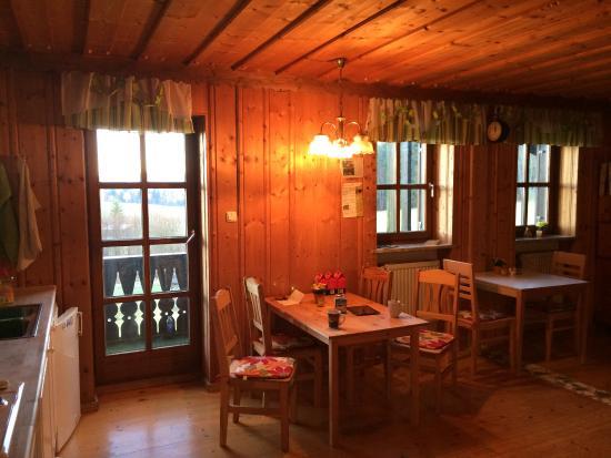 Freyung, Deutschland: Gemeenschappelijke keuken/ontbijtruimte