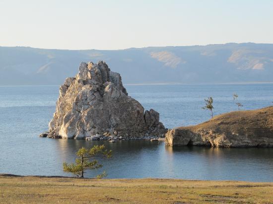 Shamanka, รัสเซีย: скала Шаманка
