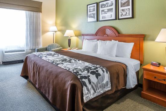 Sleep Inn & Suites Port Charlotte : King Room 1