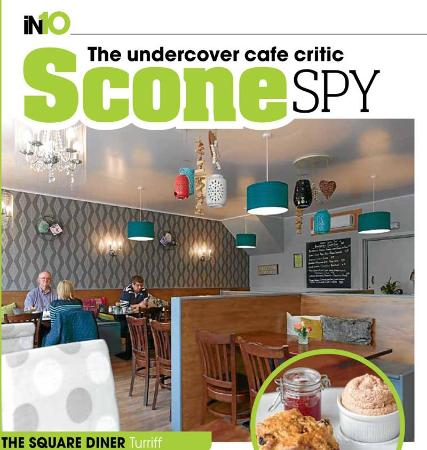 Turriff, UK: Scone Spy
