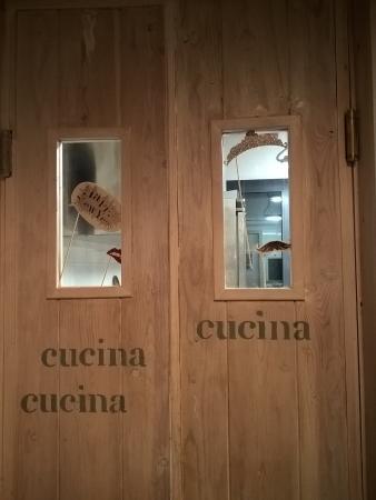 Marta, Italia: cucina la locanda di merlino 19