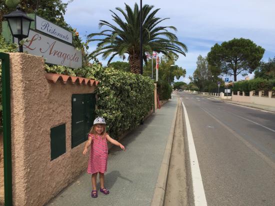 L'Aragosta: около ресторана