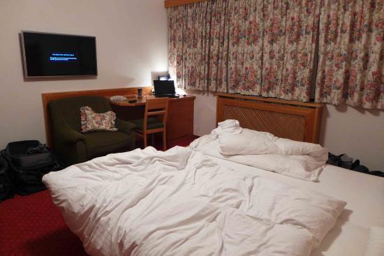 Hotel Garni Mössmer: Zimmergröße