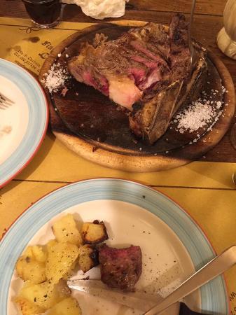 All'Antico Ristoro Di Cambi: the meat!