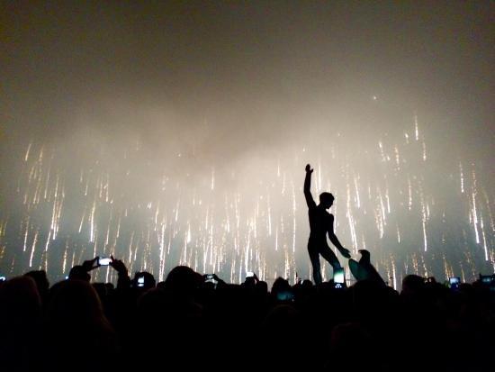 Zürichsee: Feuerwerk zum Silvesterzauber 2015