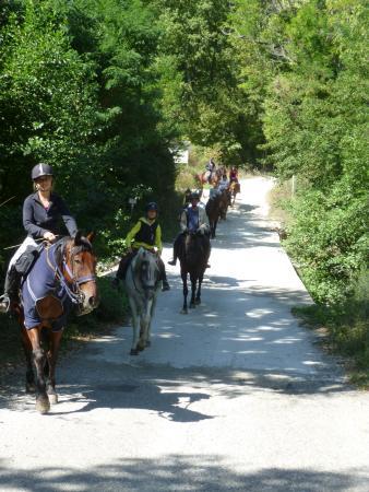 Montieri, Italia: Ankunft am Picknick