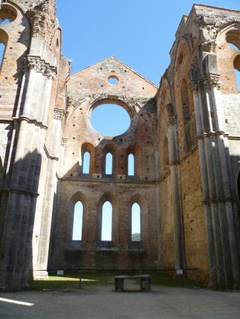 Montieri, Italia: Ausflugsziel beim Tagesritt