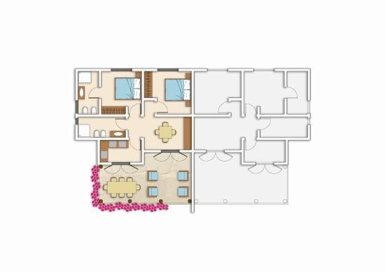 Johari Villas Parelion: plan